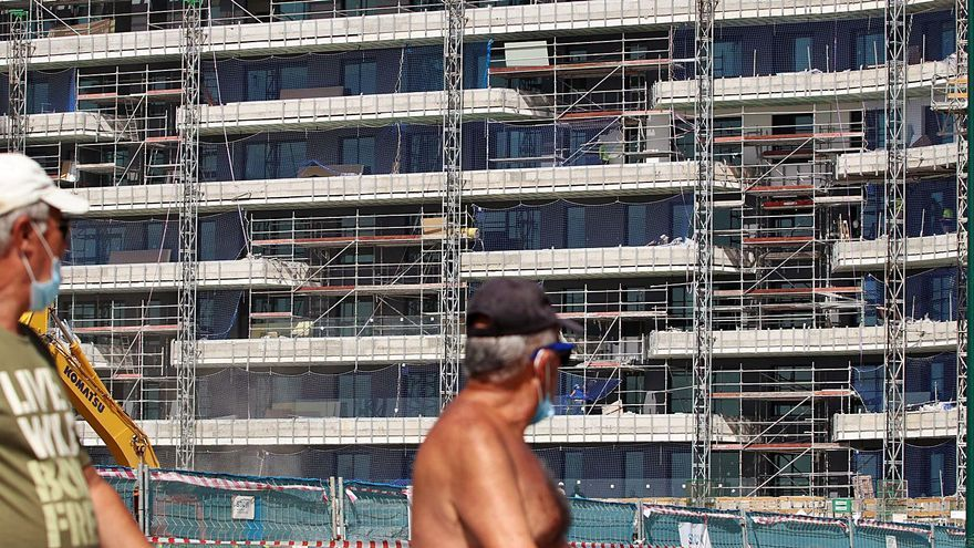 Málaga dispara con la pandemia el número de viviendas terminadas, que suben un 93% en el segundo trimestre del año