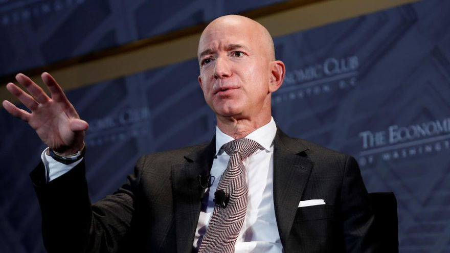 Jeff Bezos dejará el cargo de consejero delegado de Amazon