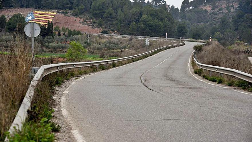 El PSC reclama que es repari el vial entre Castellnou i Santpedor