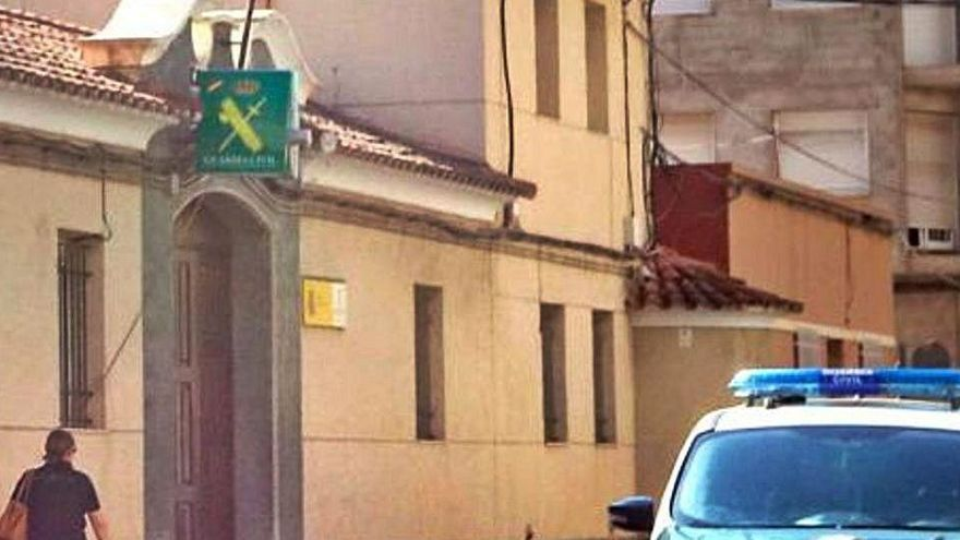 Subdelegación reforzará con 14 nuevos guardias civiles el cuartel de Callosa por la oleada de robos