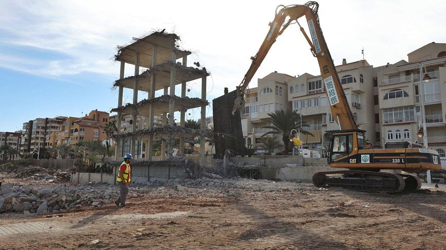 El hotel de Arenales ya es historia