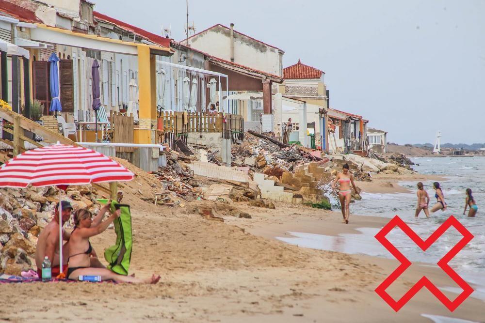 Playa Babilonia. Guardamar.