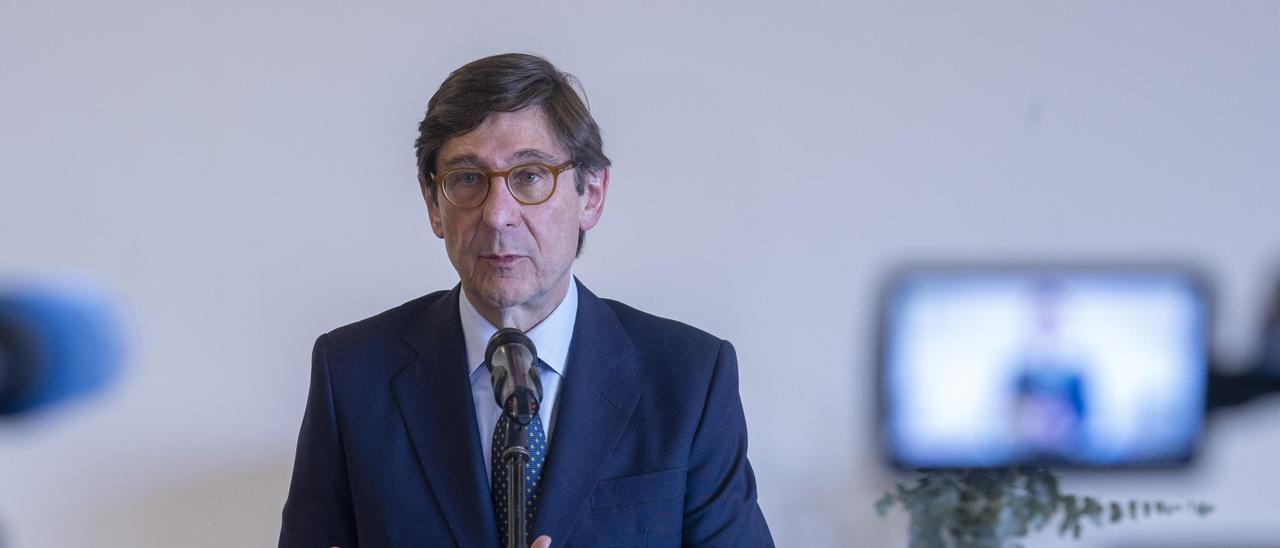 El presidente de CaixaBank, José Ignacio Goirigolzarri.