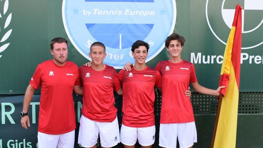 España, candidata a ganar la Copa del Sol en el Murcia Club de Tenis 1919