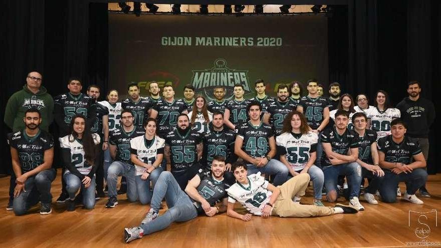 Los Gijón Mariners empiezan la Liga ante el Hospitalet