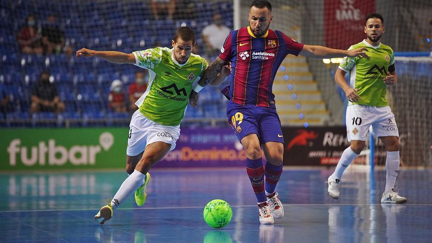 El Palma Futsal perdona y se le va el partido en la prórroga