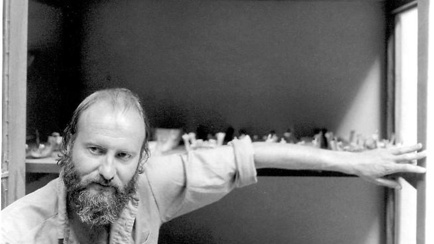 La obra de Millares vuelve a Barcelona 40 años después