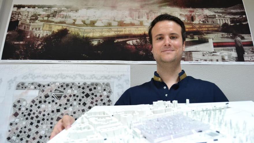 Premiado un arquitecto de la UPCT por su proyecto para la estación del AVE en Cartagena