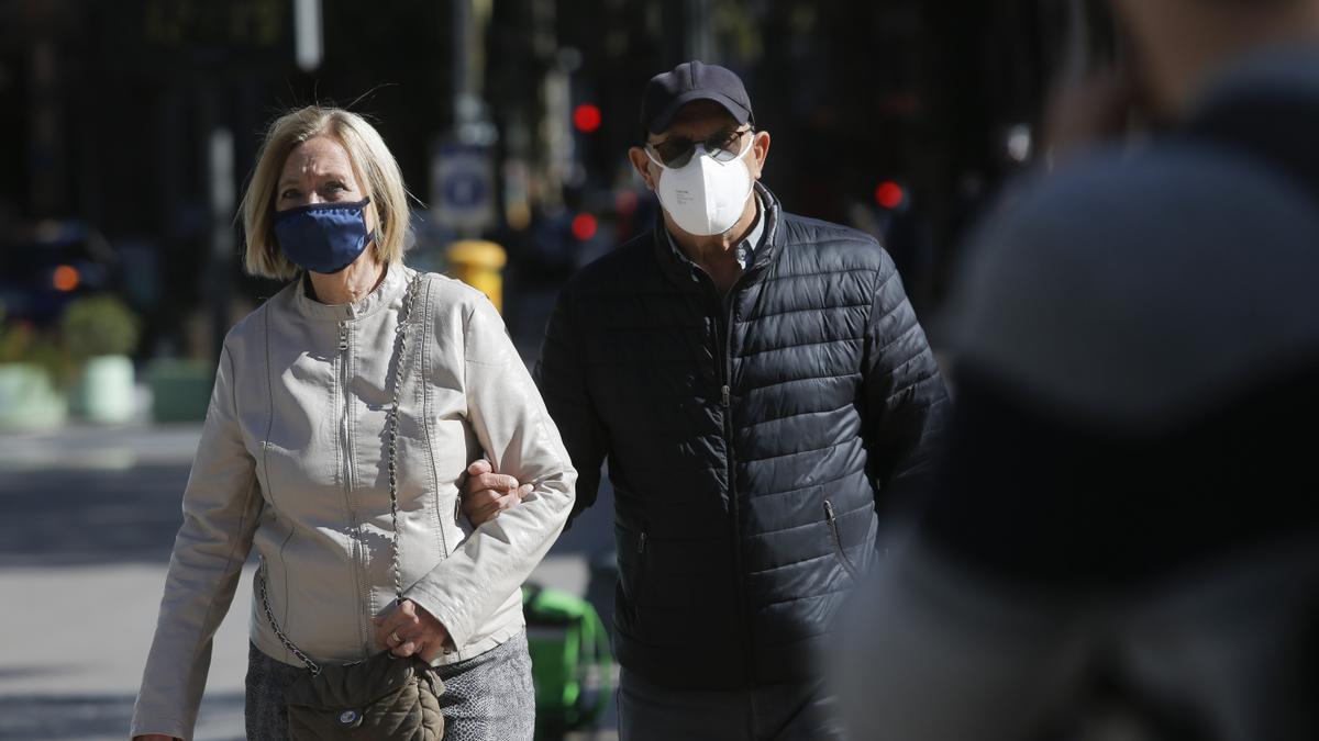 Tiempo en València: La Comunitat registra un notable descenso de temperaturas y rachas fuertes de viento