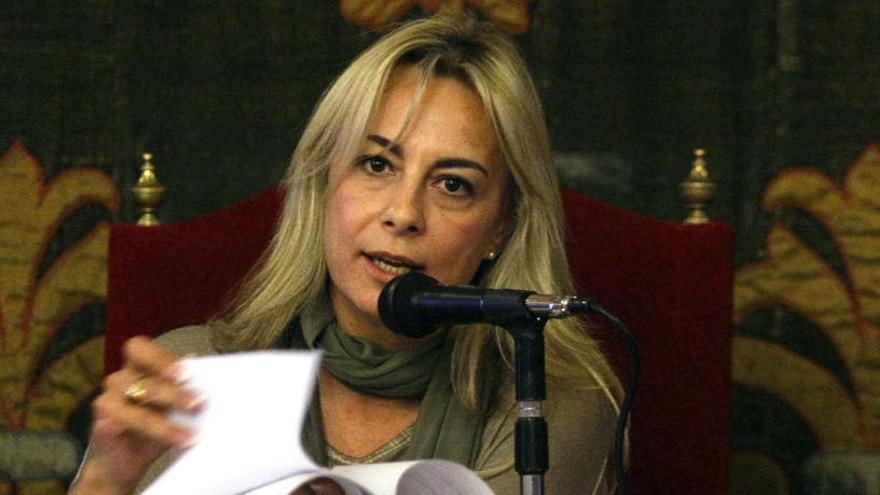 Sonia Castedo, ex alcaldesa de Alicante, procesada por presuntos amaños