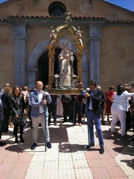 Romería de la Virgen del Olmo en Villaescusa.