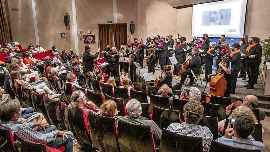 El Club Diario de Mallorca acogió anoche el Foro Bellver dedicado a Giuseppe Verdi