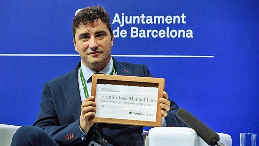 El Círculo de Economía premia a Freepik por su salto empresarial