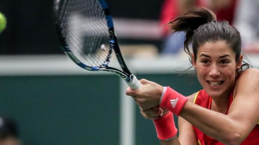El tenis femenino español pincha en la Copa Federación