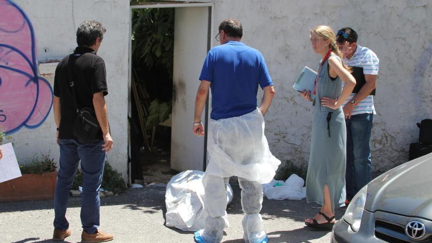 Hallan el cadáver de un hombre en estado de descomposición junto a Nuevo Centro