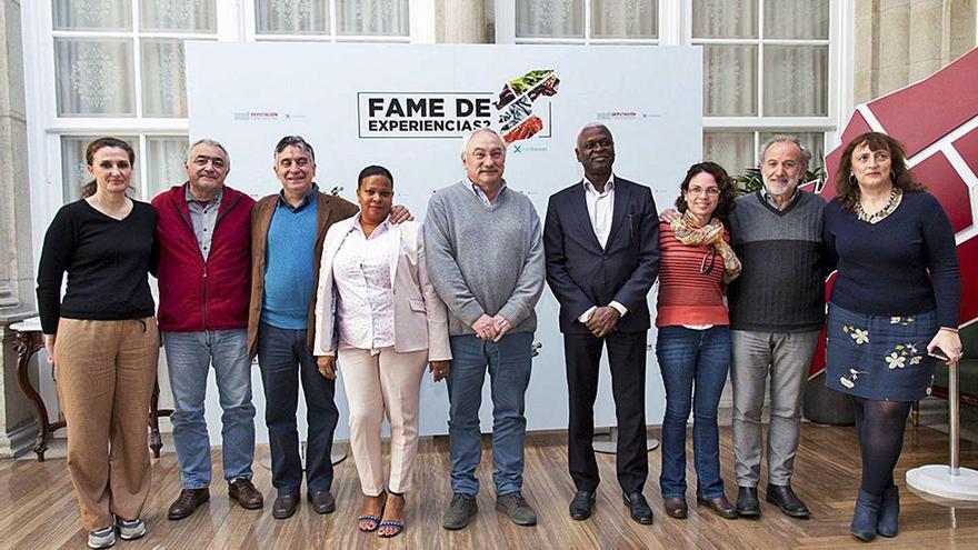 La Diputación formará en materia de compostaje a una delegación de la isla africana de Príncipe