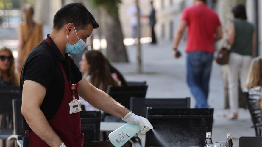 Las enfermedades profesionales caen el 32% en 2020 debido a la covid