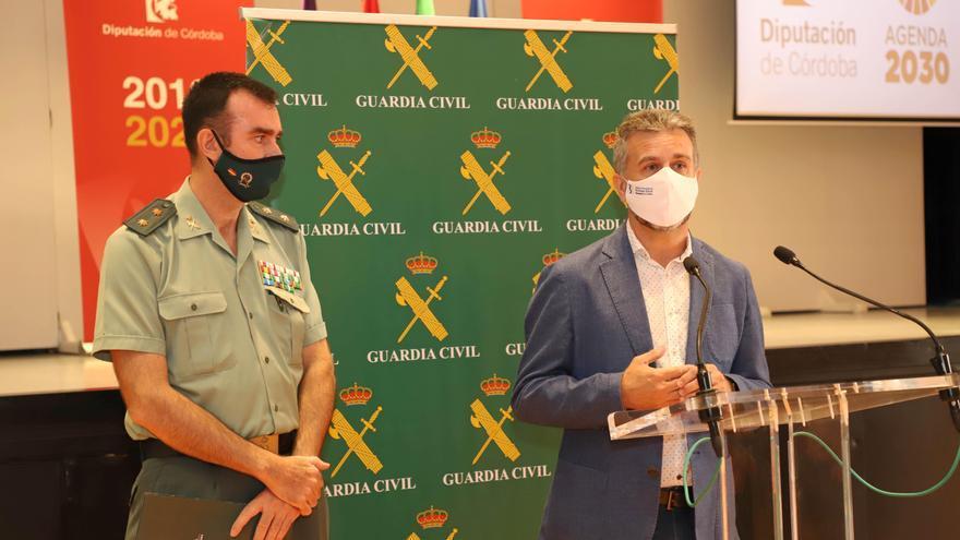 El Instituto Provincial de Bienestar Social y la Guardia Civil refuerzan su colaboración para mejorar la seguridad de los mayores de la provincia