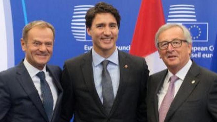 Así es el CETA, el pacto comercial UE-Canadá