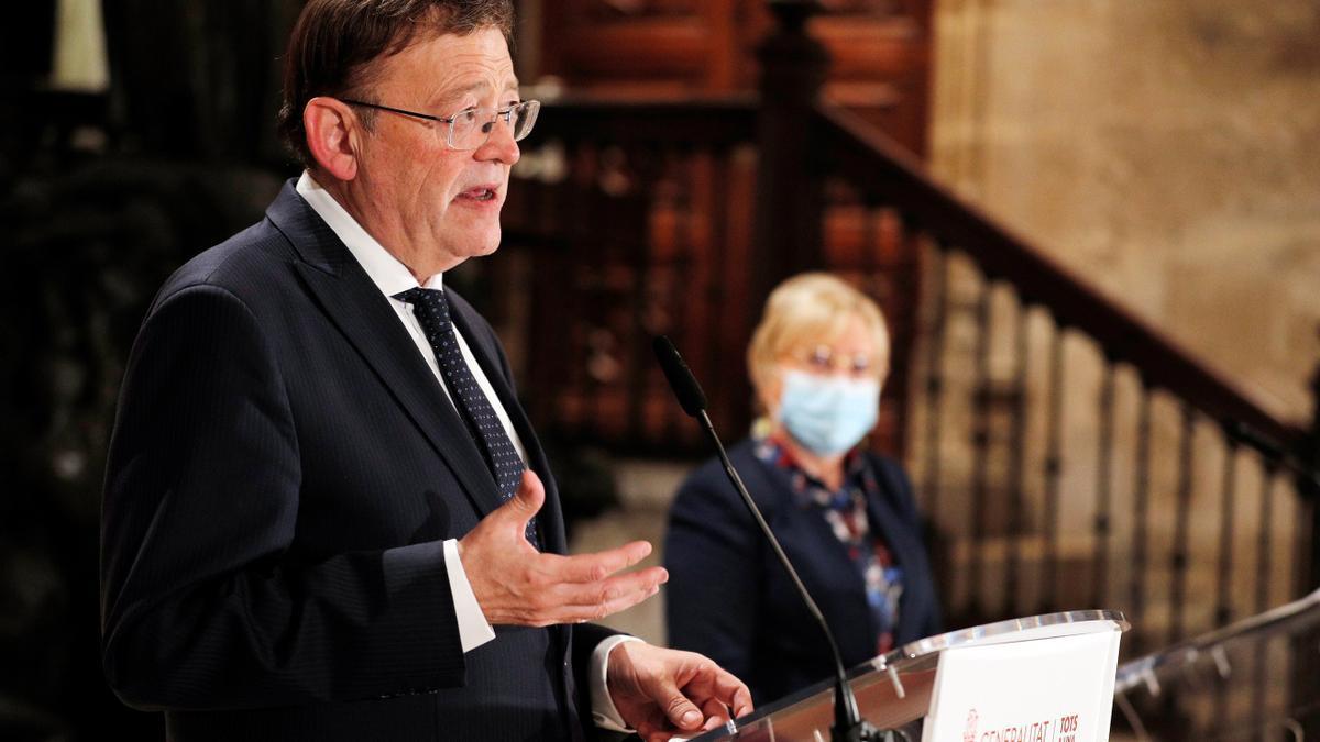 Ximo Puig, president de la Generalitat.
