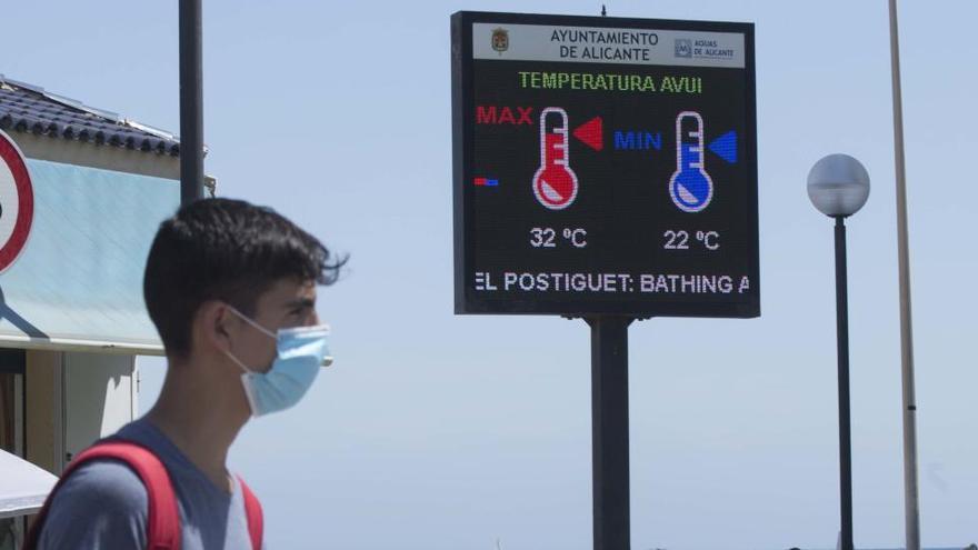 El pasado agosto fue el mes más cálido y seco de los últimos ocho años en la Comunidad Valenciana