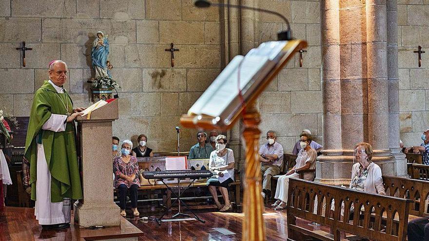 Misa en el día de los abuelos en honor de los afectados de Covid