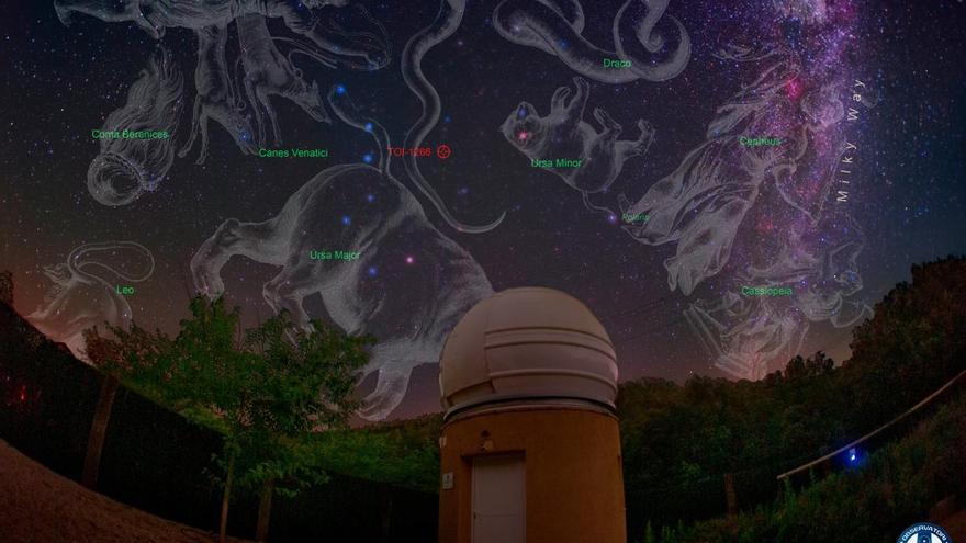 L'Observatori Astronòmic Albanyà co-descobreix cinc sistemes planetaris nous