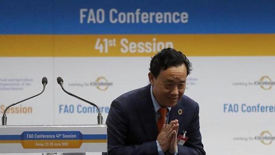 El viceministro chino Qu, nuevo director de la FAO