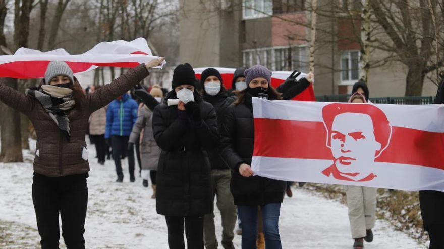 Al menos 254 detenidos en nuevas protestas contra Lukashenko en Bielorrusia