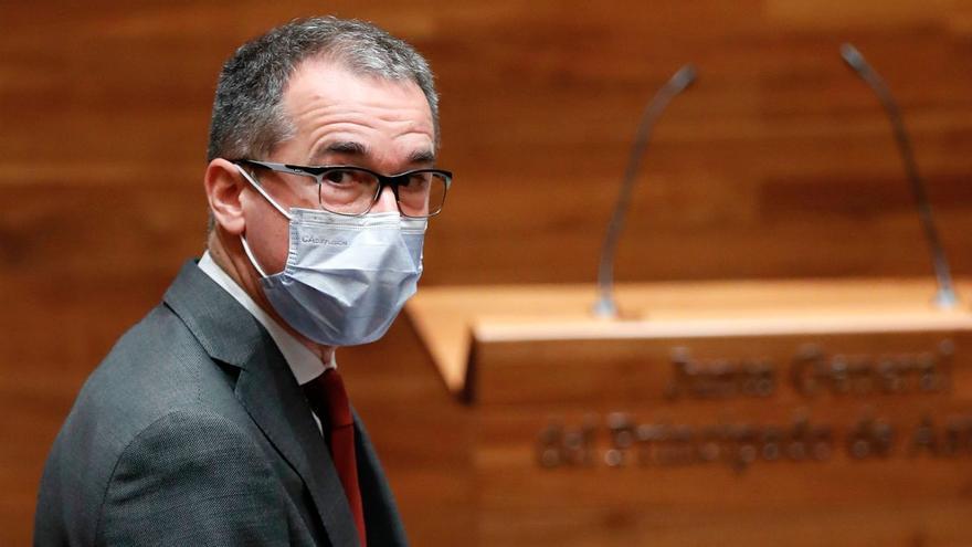 """Pablo Fernández Muñiz, consejero de Salud: """"En Asturias no se ha vacunado a ningún alto cargo ni a ningún directivo que esté en despachos"""""""