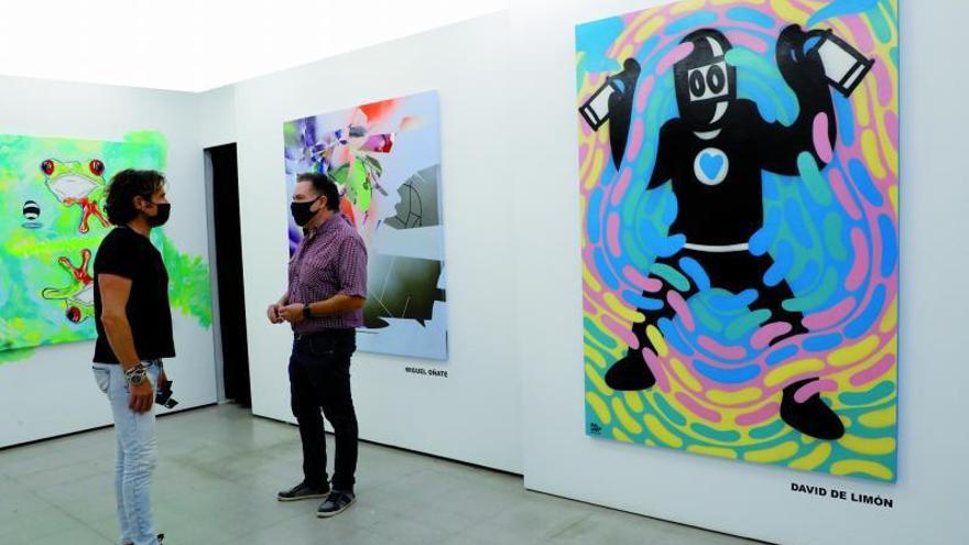 Temperatura de color para una galería de arte