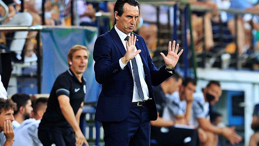 Emery diseña a un Villarreal CF de Champions