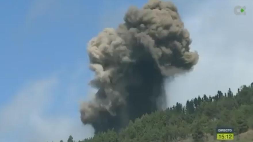 Directo | Erupción del volcán en la Cumbre Vieja de La Palma