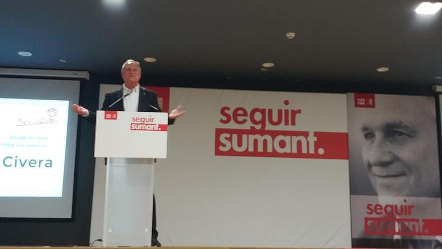Manolo Civera repite como candidato socialista a la alcaldía de Llíria