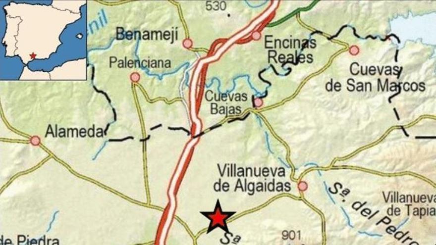 Sentido en Rute, Benamejí y Lucena el terremoto de esta madrugada en Málaga