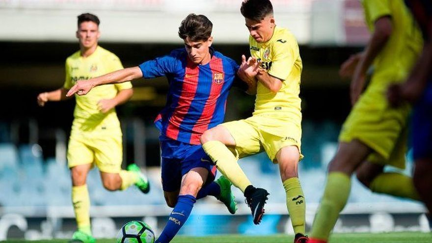 El Villarreal CF juvenil se medirá al Real Madrid en semifinales de la Copa del Rey