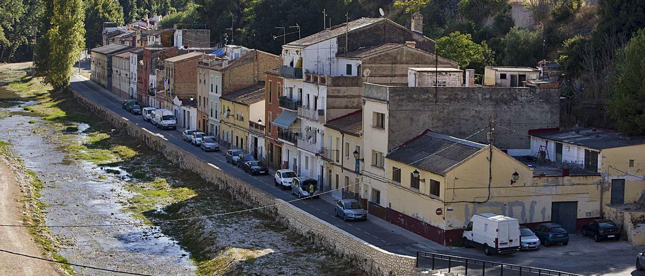 Panorámica del barrio de Cantereria de Ontinyent, en una fotografía de archivo | PERALES IBORRA