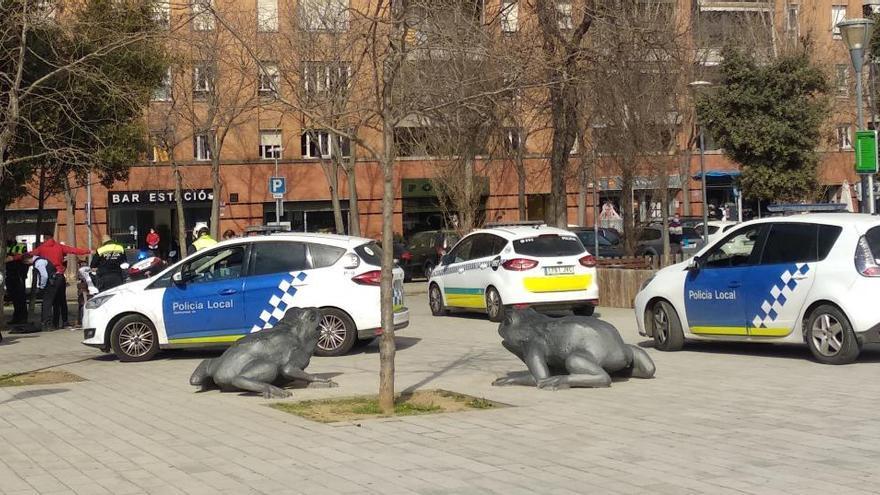 Una nova baralla al parc Central de Girona acaba amb un menor detingut
