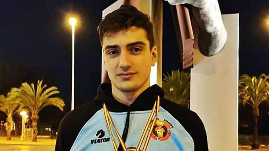 Javier Huerga se proclama campeón de España en categoría absoluta