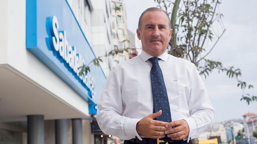 """Pablo Junceda Moreno: """"Si una consultora midiese el 'sentidiño' de la banca en Galicia, seríamos líderes"""""""