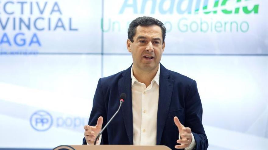 """Moreno advierte a Cs de que """"no es discutible"""" que el PP debe presidir la Junta"""