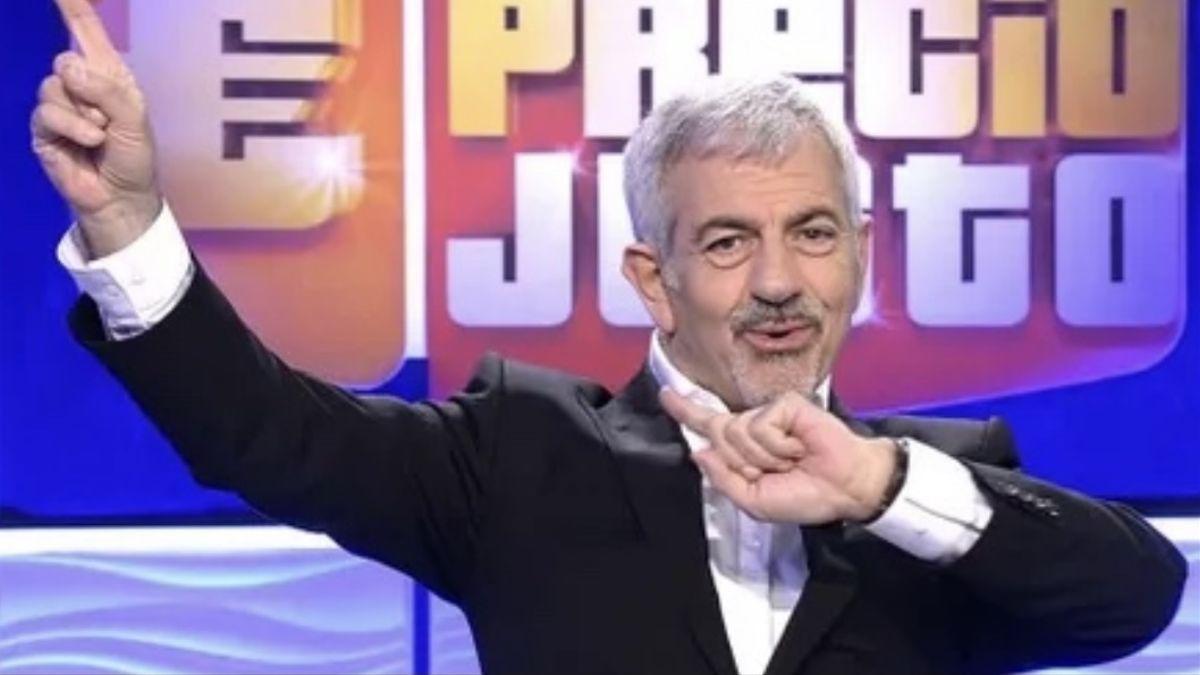 Carlos Sobera, presentador de 'El precio justo'.