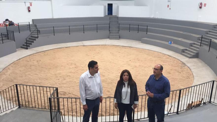 Telde prevé que el terrero de Lomo Cementerio acoja la Escuela de Lucha Canaria y las luchadas del Castro Morales