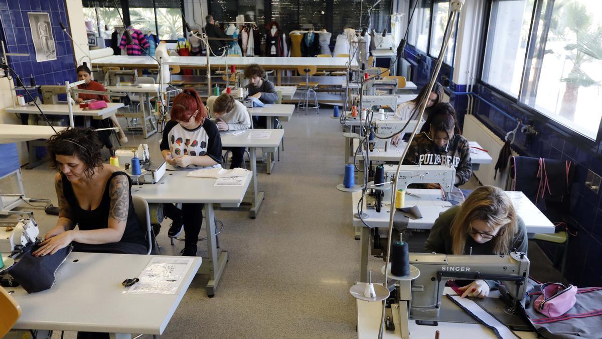 Centro de formación del sector textil en València.