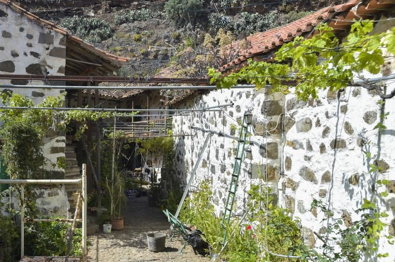 Cuartel El Colmenar en el barranco San Miguel de Valsequillo