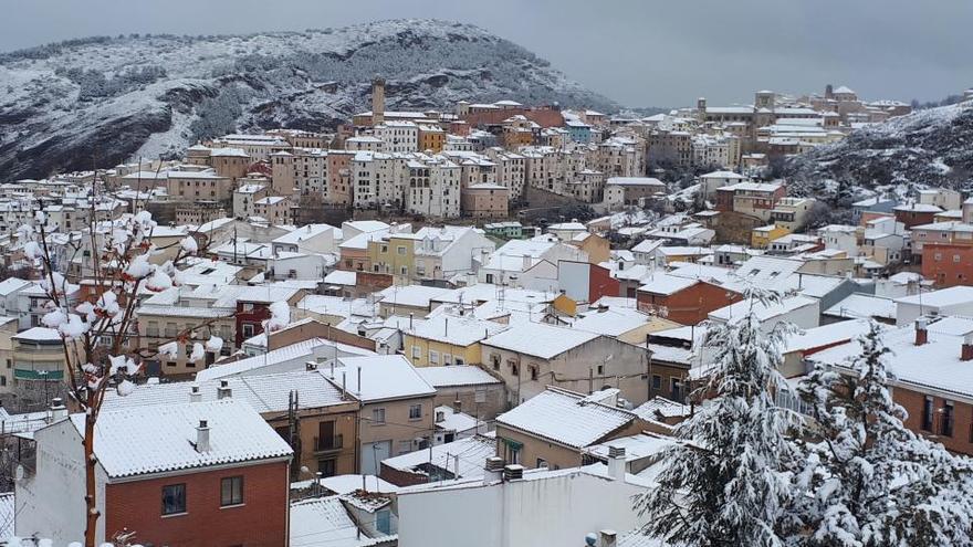 La borrasca Filomena deja nieve y una temperatura de -35,6º en la Vega de Liordes