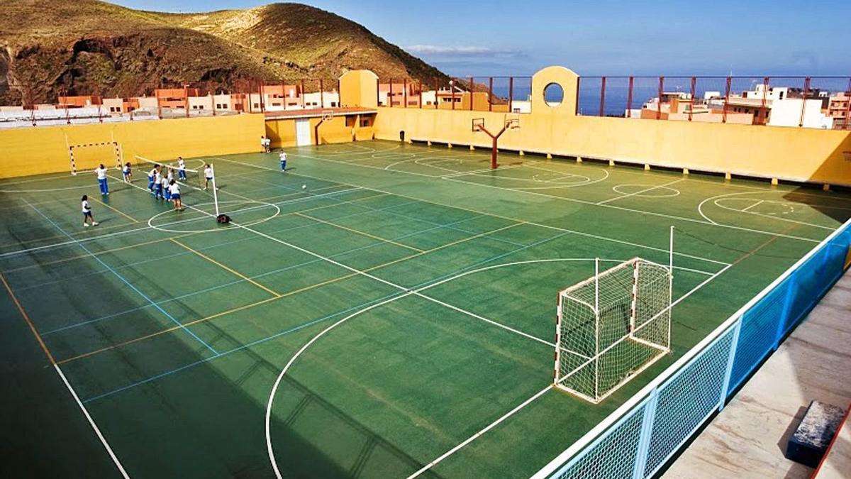 Instalaciones del colegio Cisneros Alter de La Laguna. | | E.D.