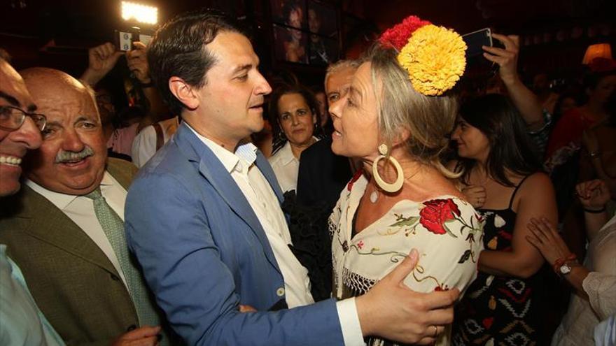 Bellido afirma que «ojalá» Cs entre en el nuevo gobierno municipal