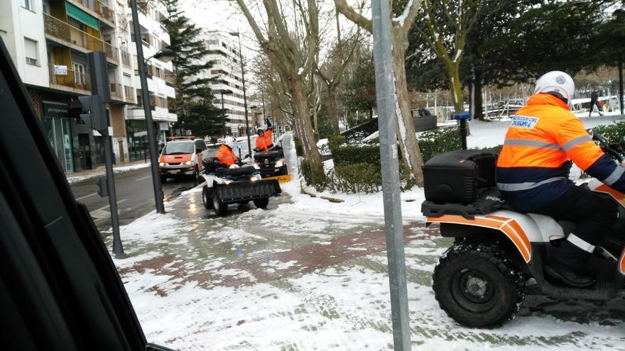 Temporal Filomena en Zamora | Ciudadanos pide al Ayuntamiento que informe del estado de las vías