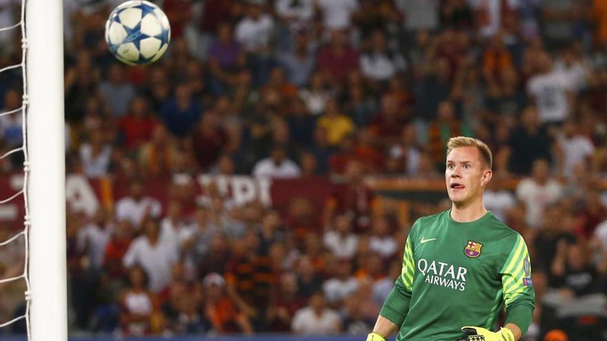 Ter Stegen renueva con el Barcelona hasta 2022